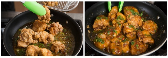 Chicken Karaage with Sweet Chili Sauce 11