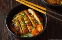 Teriyaki Pork Donburi 豚の照り焼き丼