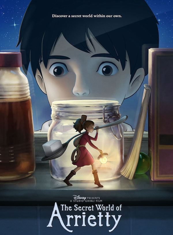 The secret-world-of-arrietty-Japanese movie animation
