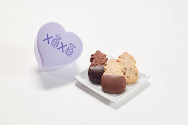 XOXO Heart Box Honolulu Cookies Company giveaway on JustOneCookbook.com