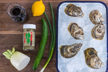 grilled oysters ingredients