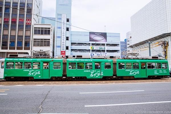 streetcar in Hiroshima Japan | Hiroshima Japan Guide JustOneCookbook.com