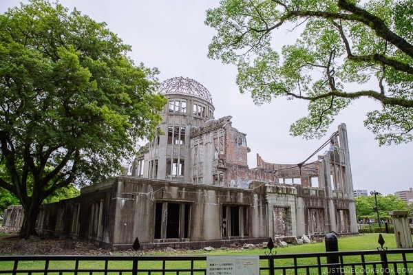 Atomic Bomb Dome in Hiroshima | JustOneCookbook.com