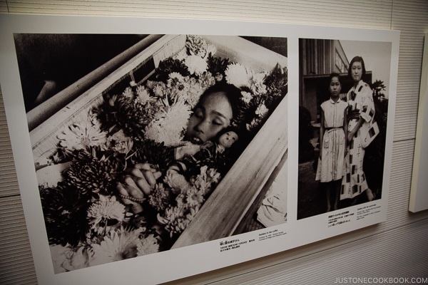black and white images of Sadako Sasaki | JustOneCookbook.com