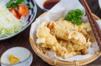 Chicken Tempura (Toriten) とり天