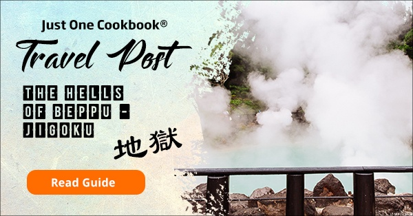 Beppu Jigoku Travel Guide | justonecookbook.com