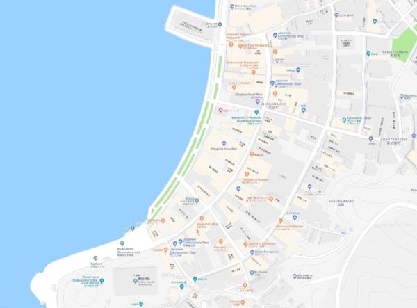 Miyajima main street map | JustOneCookbook.com