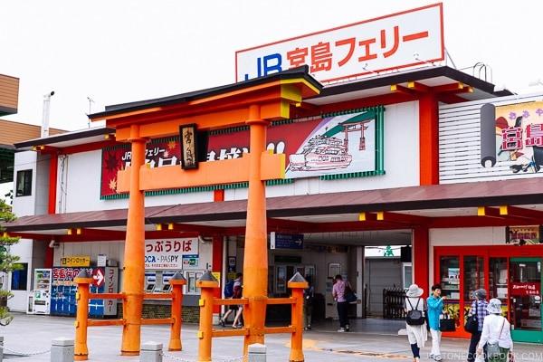 Miyajima Ferry terminal | JustOneCookbook.com Miyajima Travel Guide