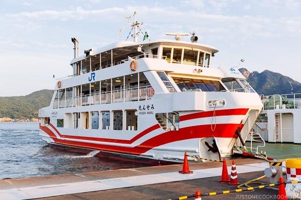Miyajima Ferry | JustOneCookbook.com