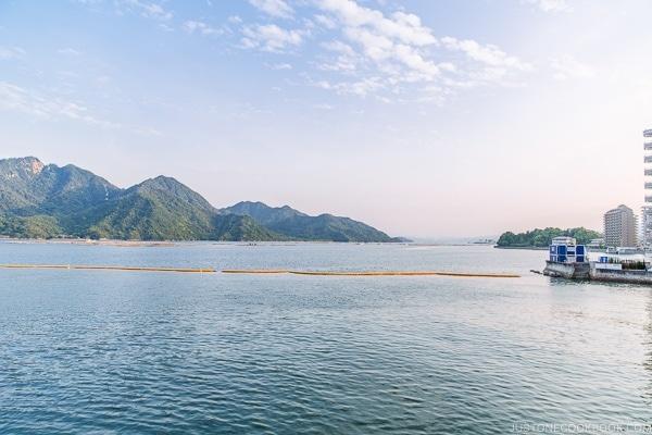 view of Hiroshima Bay | JustOneCookbook.com