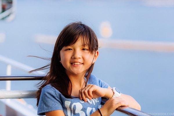 on the ferry to Miyajima | JustOneCookbook.com