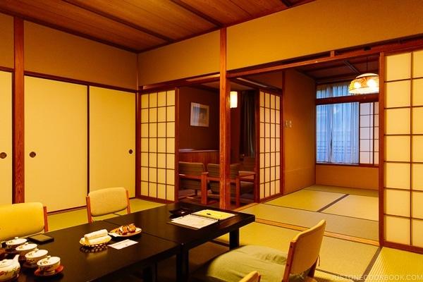 guest room at Miyajima Grand Hotel Arimoto | JustOneCookbook.com