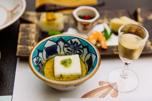 appetizer at Miyajima Grand Hotel Arimoto | JustOneCookbook.com