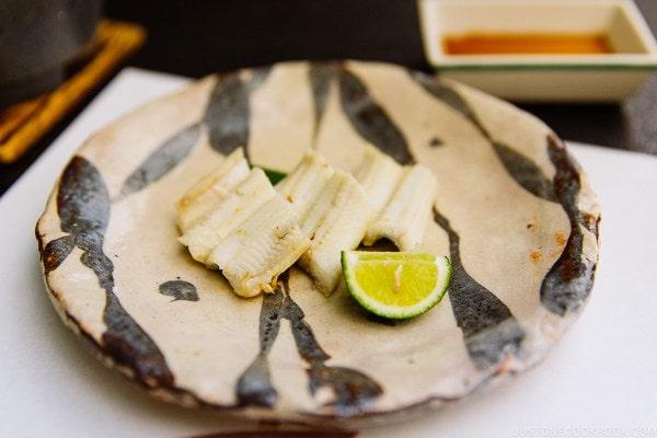 sea eel Miyajima dinner | JustOneCookbook.com