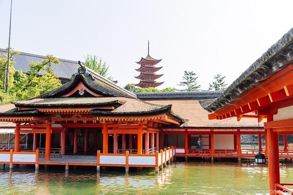 Itsukushima Shrine at Miyajima   JustOneCookbook.com