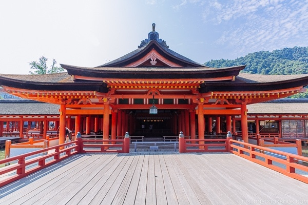 Itsukushima Shrine at Miyajima | JustOneCookbook.com