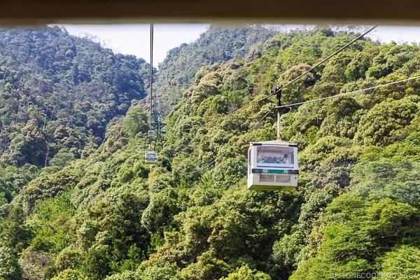 view of Mt. Misen from Miyajima Ropeway car | JustOneCookbook.com