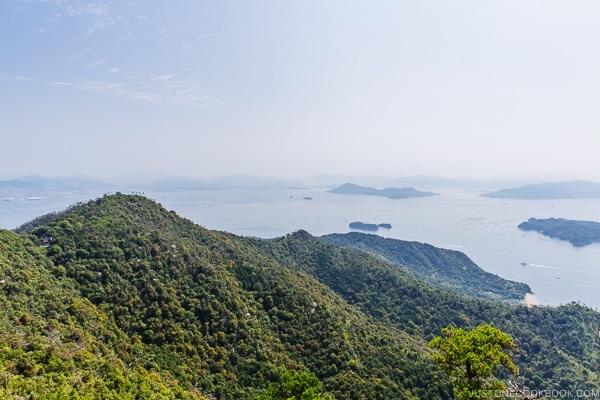 view of Hiroshima Bay from Mt. Misen | JustOneCookbook.com Mount Misen