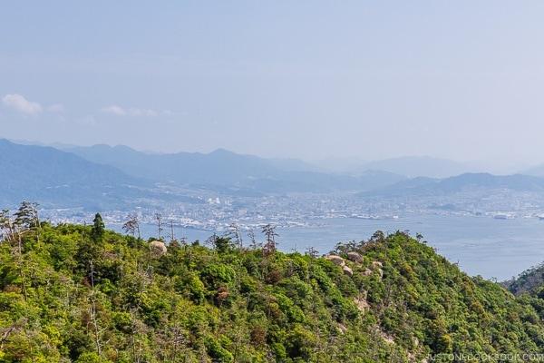 view of Hiroshima city from Mt. Misen | JustOneCookbook.com Mount Misen