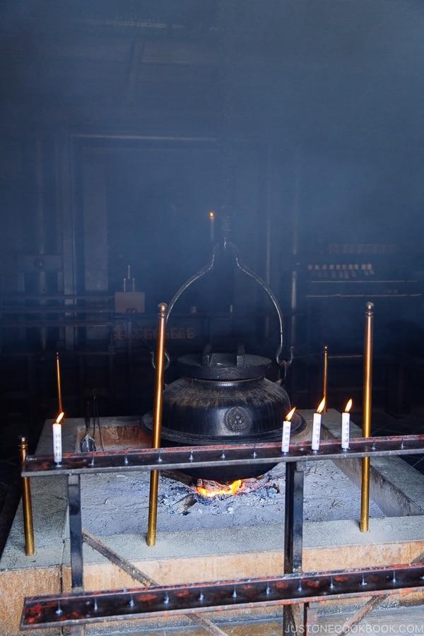 eternal flame Mt Misen Miyajima | JustOneCookbook.com Mount Misen