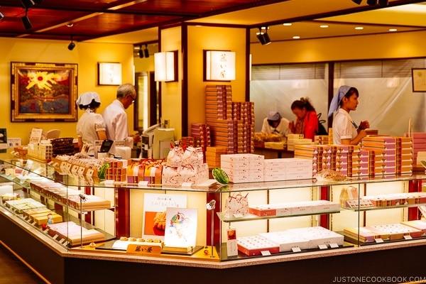 confectionary shop at Miyajima-cho Hiroshima | JustOneCookbook.com