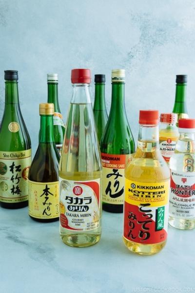 Sake and Mirin | Easy Japanese Recipes at JustOneCookbook.com