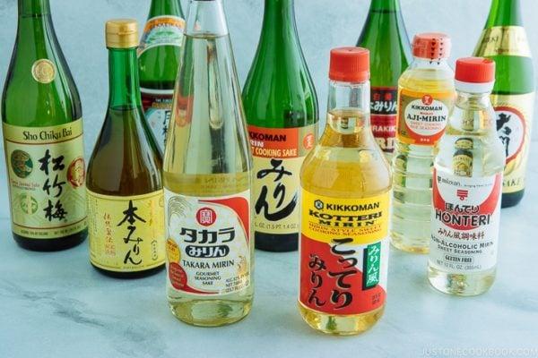 Sake and Mirin   Easy Japanese Recipes at JustOneCookbook.com