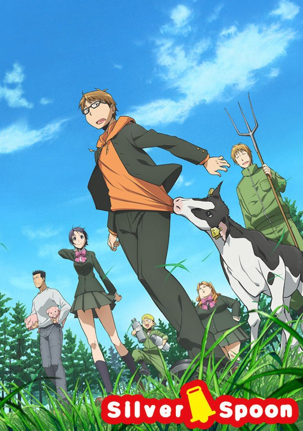 Silver Spoon Japanese anime to stream on Netflix