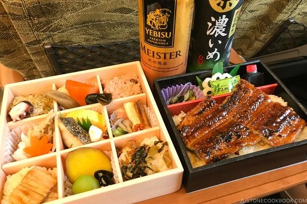 Kyushu shinkansen bento - Beppu travel guide | justonecookbook.com