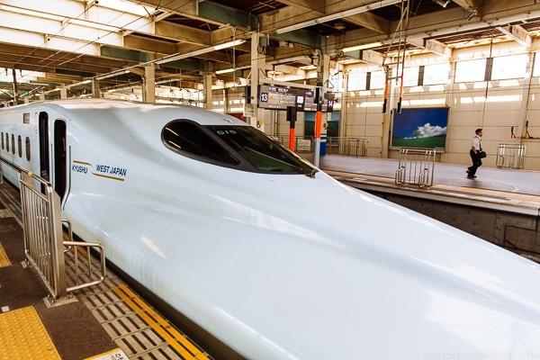 Kyushu shinkansen - Beppu travel guide | justonecookbook.com