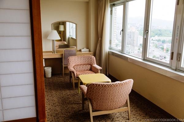 guestroom Suginoi Hotel Beppu - Beppu travel guide | justonecookbook.com