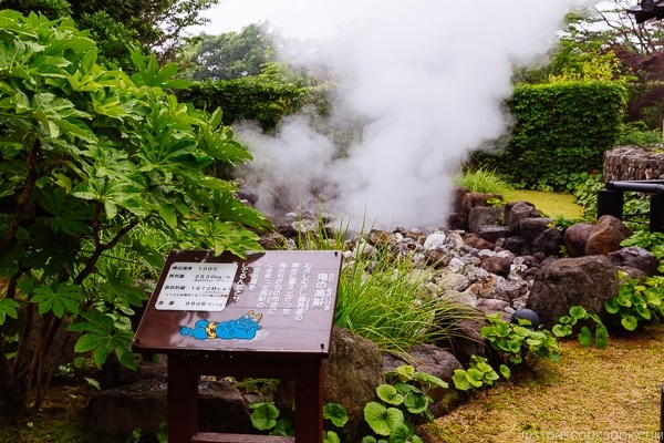 Oniishibozu-Jigoku Beppu travel guide | justonecookbook.com