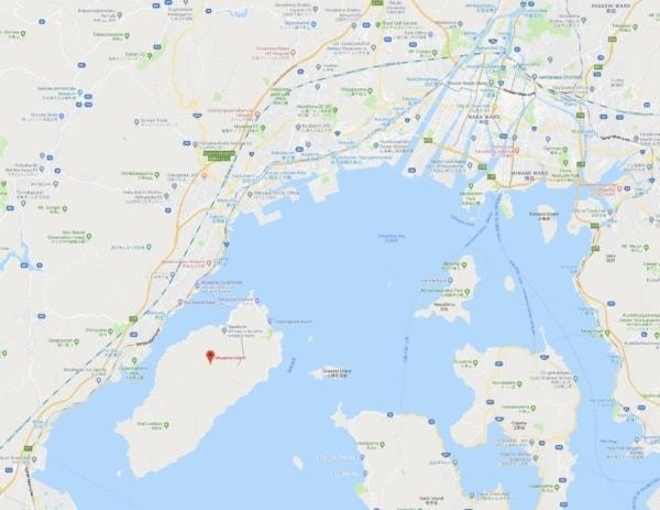map of Hiroshima Miyajima | JustOneCookbook.co
