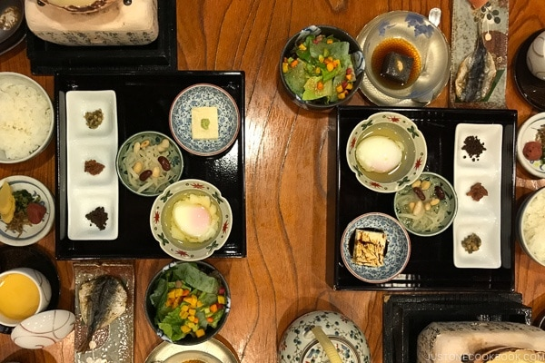 Kaiseki dinner at Musouen Hotel 山のホテル 夢想園 - Yufuin Travel Guide | justonecookbook.com
