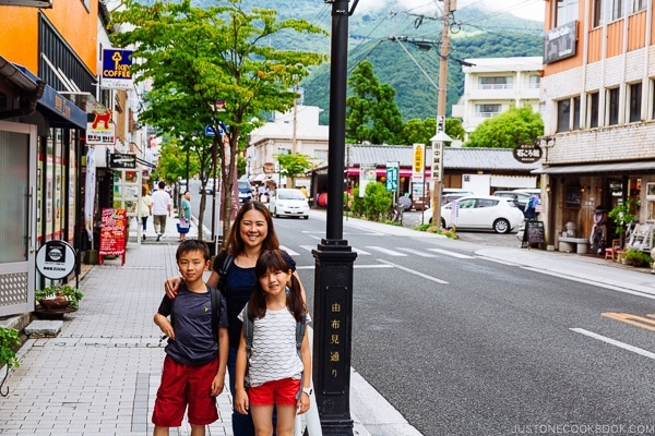 Yufuin main street - Yufuin Travel Guide | justonecookbook.com