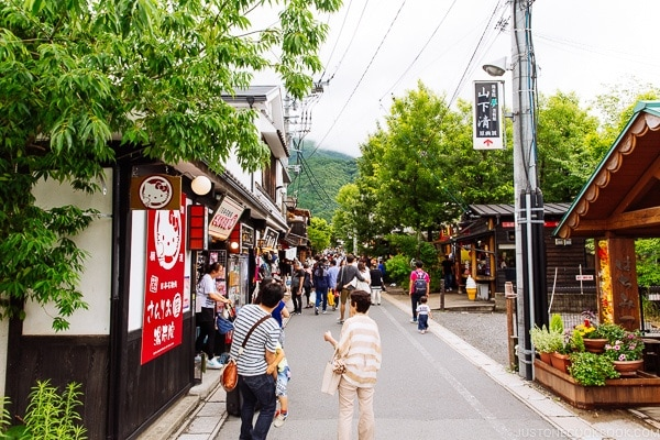 main street shops - Yufuin Travel Guide | justonecookbook.com