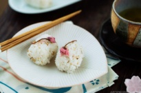 Cherry Blossom Rice Balls 桜のおにぎり
