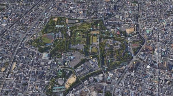 Google Map Kumamoto Castle | justonecookbook.com