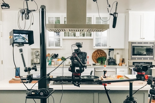 Just One Cookbook Cameras in the Kitchen Studio