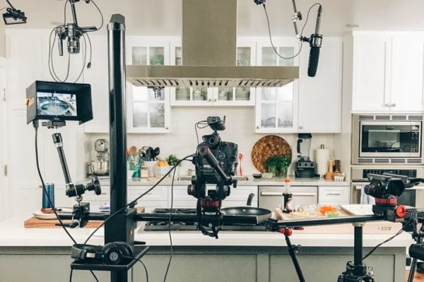 Just One Cookbook Cameras in the Kitchen Studio
