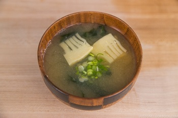 Vegetable Miso Soup 15