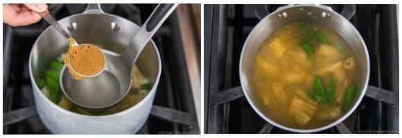 Vegetable Miso Soup 20