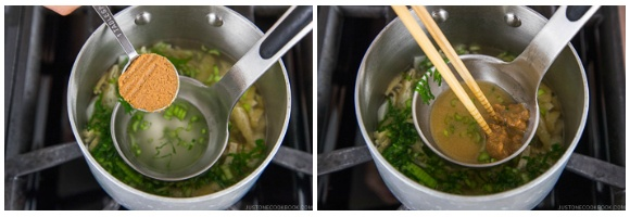 Vegetable Miso Soup 7