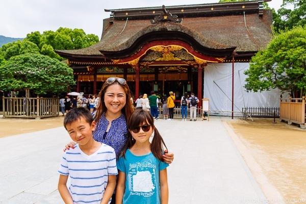 Just One Cookbook family at Dazaifu - Fukuoka Travel Guide | justonecookbook.com