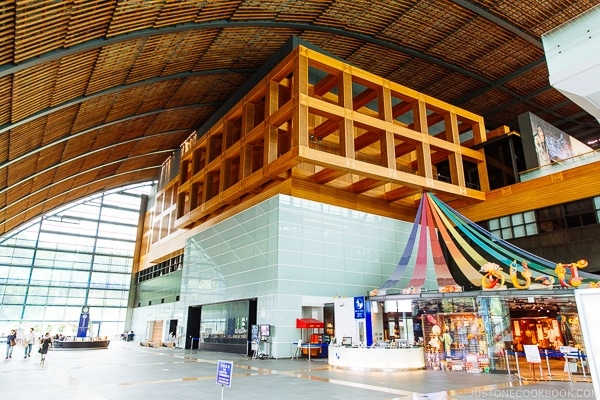 lobby of Kyushu national museum - Fukuoka Travel Guide | justonecookbook.com