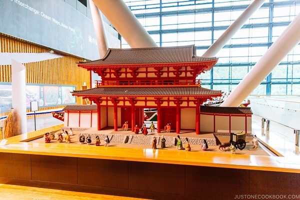 replica of Dazaifu gate Kyushu National Museum - Fukuoka Travel Guide | justonecookbook.com