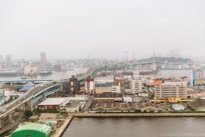 View of Fukuoka city from Fukuoka Port Tower - Fukuoka Travel Guide | justonecookbook.com