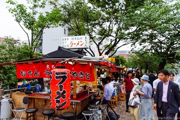 Daichan Yatai - Fukuoka Travel Guide | justonecookbook.com