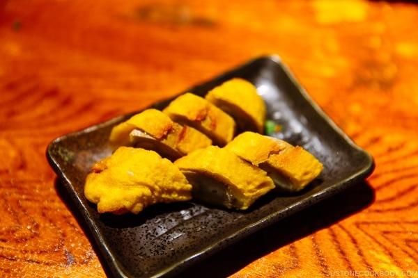 Karashi renkon at ねぎぼうず Negibouzu Izakaya - Kumamoto Travel Guide | justonecookbook.com