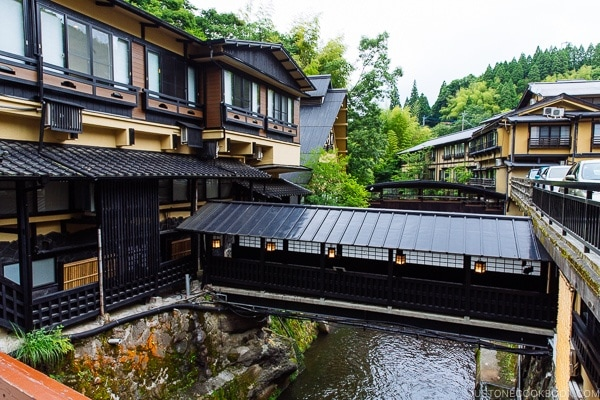 view of hotels Kurokawa Onsen Travel Guide | justonecookbook.com